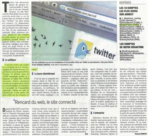 annecy,twitter,presse,essor,dauphine