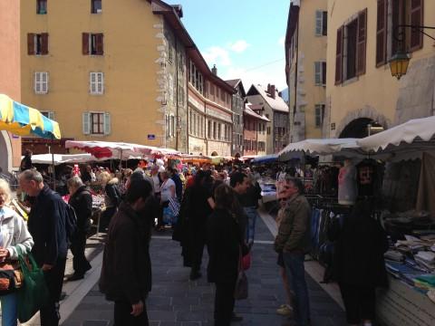 annecy,marche,vielle ville,jardinage,enfants,jardins de l'europe